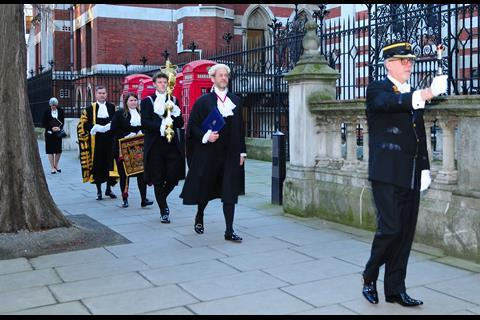 Lord chancellor's procession